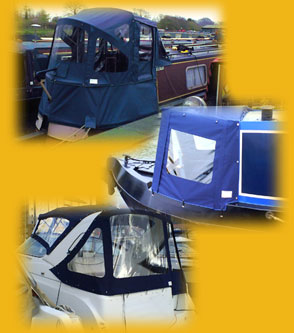 Mastawerks - examples of boat covers and canopies